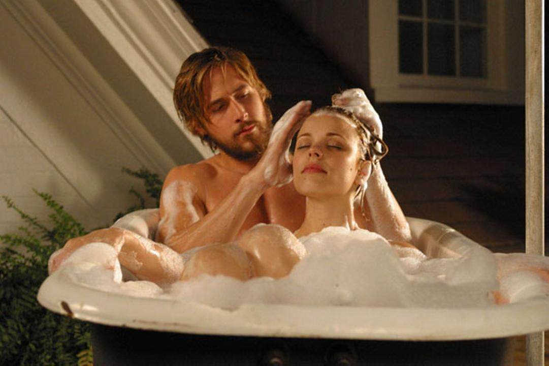The notebook first time sex scene