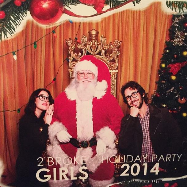 Josh Groban Christmas.Kat Dennings And Josh Groban Etonline