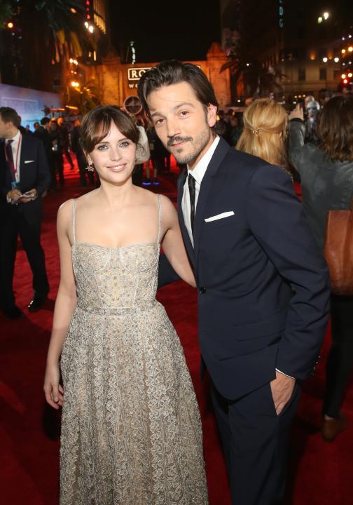 Felicity Jones And Diego Luna
