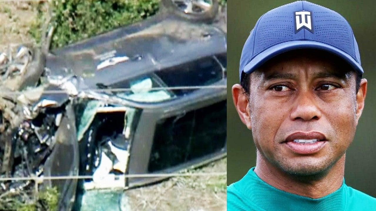 Tiger Woods Hospitalized After Serious Car Crash ...