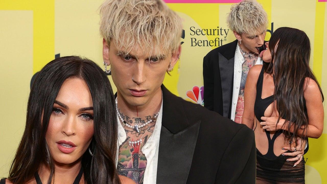 Machine Gun Kelly and Megan Fox make out at Billboard Awards