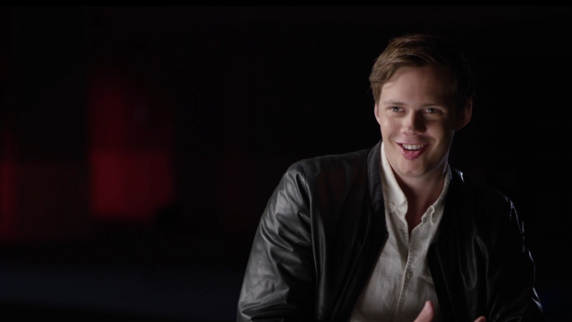 Bill Skarsgard Reveals Behind The Scenes Secrets Of His Weird Disturbing Transformation In It Exclusive Entertainment Tonight See more of bill skarsgård on facebook. find out how bill skarsgard transformed into pennywise the clown for it exclusive