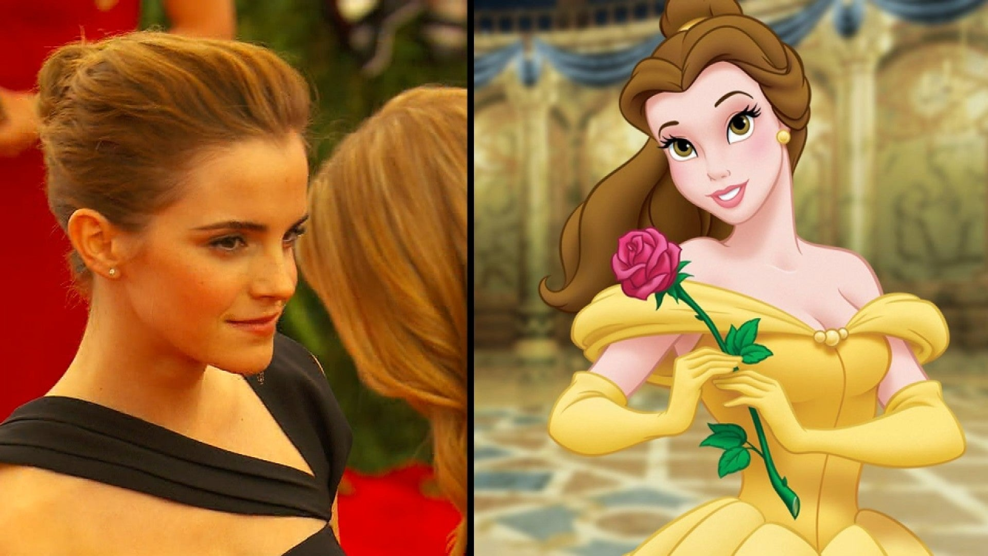 Emma Watson Cast As Belle In Beauty And The Beast 7 Reasons She S Perfect Entertainment Tonight