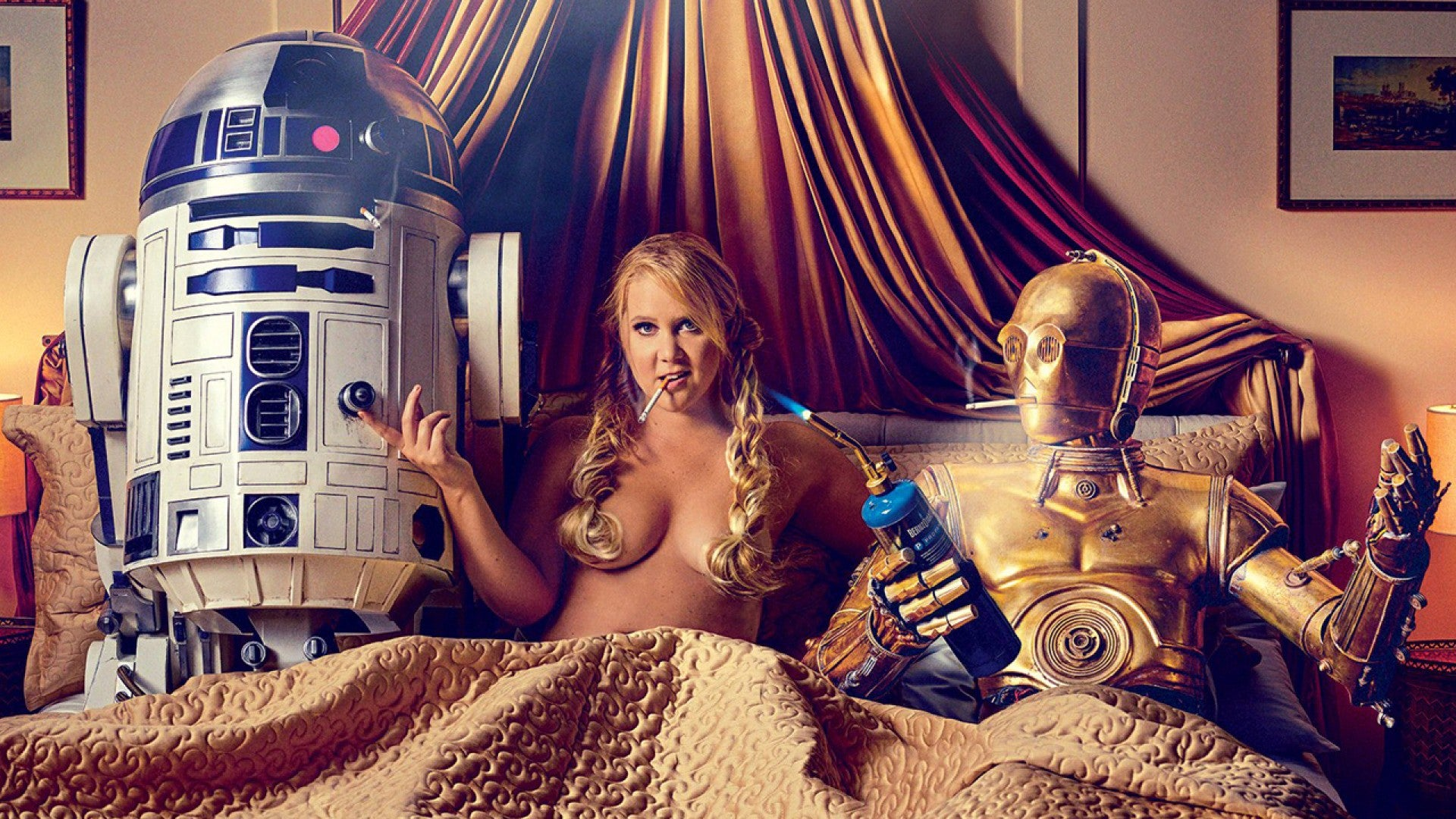 Amy Ryan Sex amy schumer is one sexual princess leia in gq's 'star wars