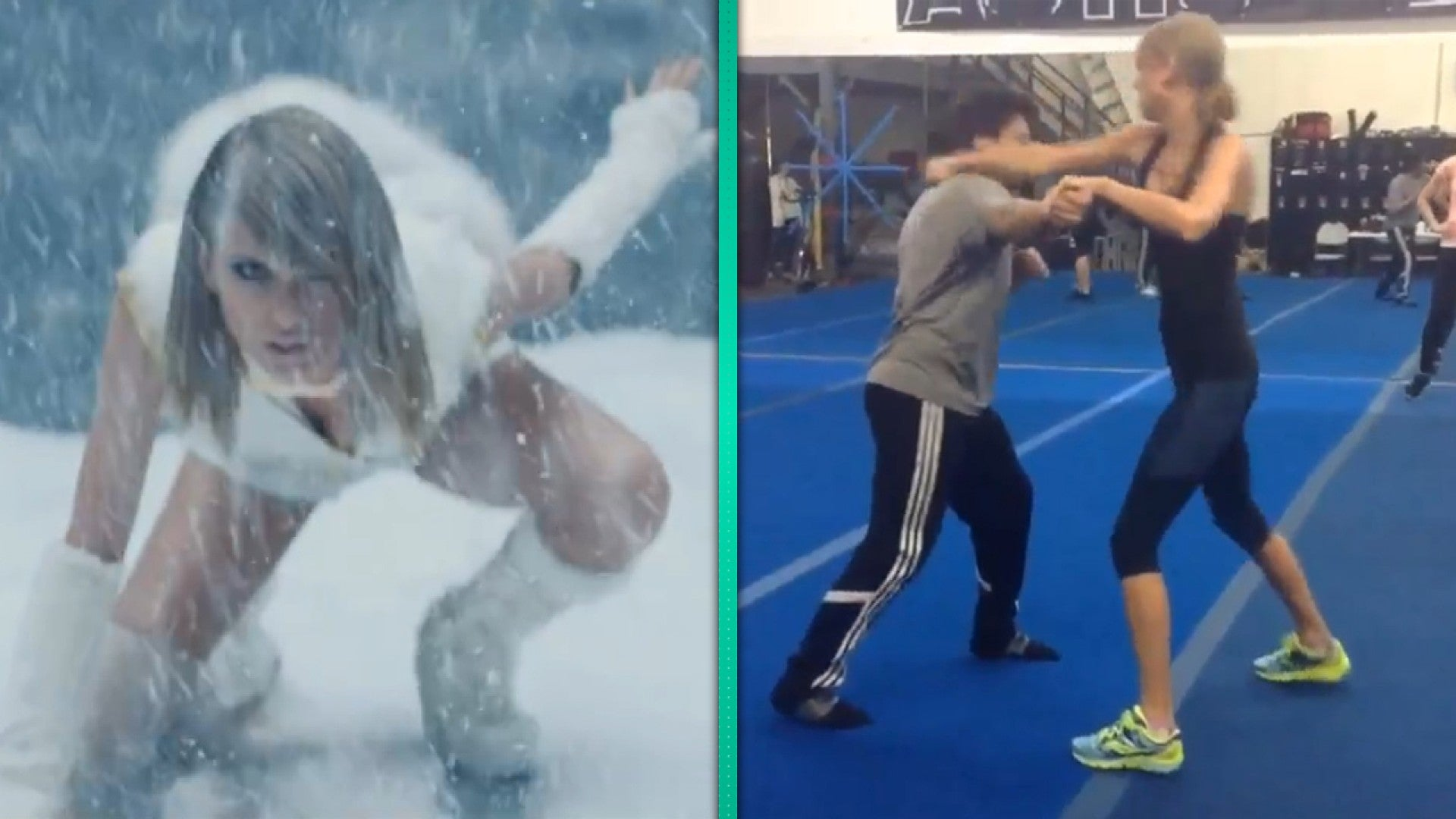Watch Taylor Swift Kick Major Ass In Bad Blood Fight Training Video Entertainment Tonight