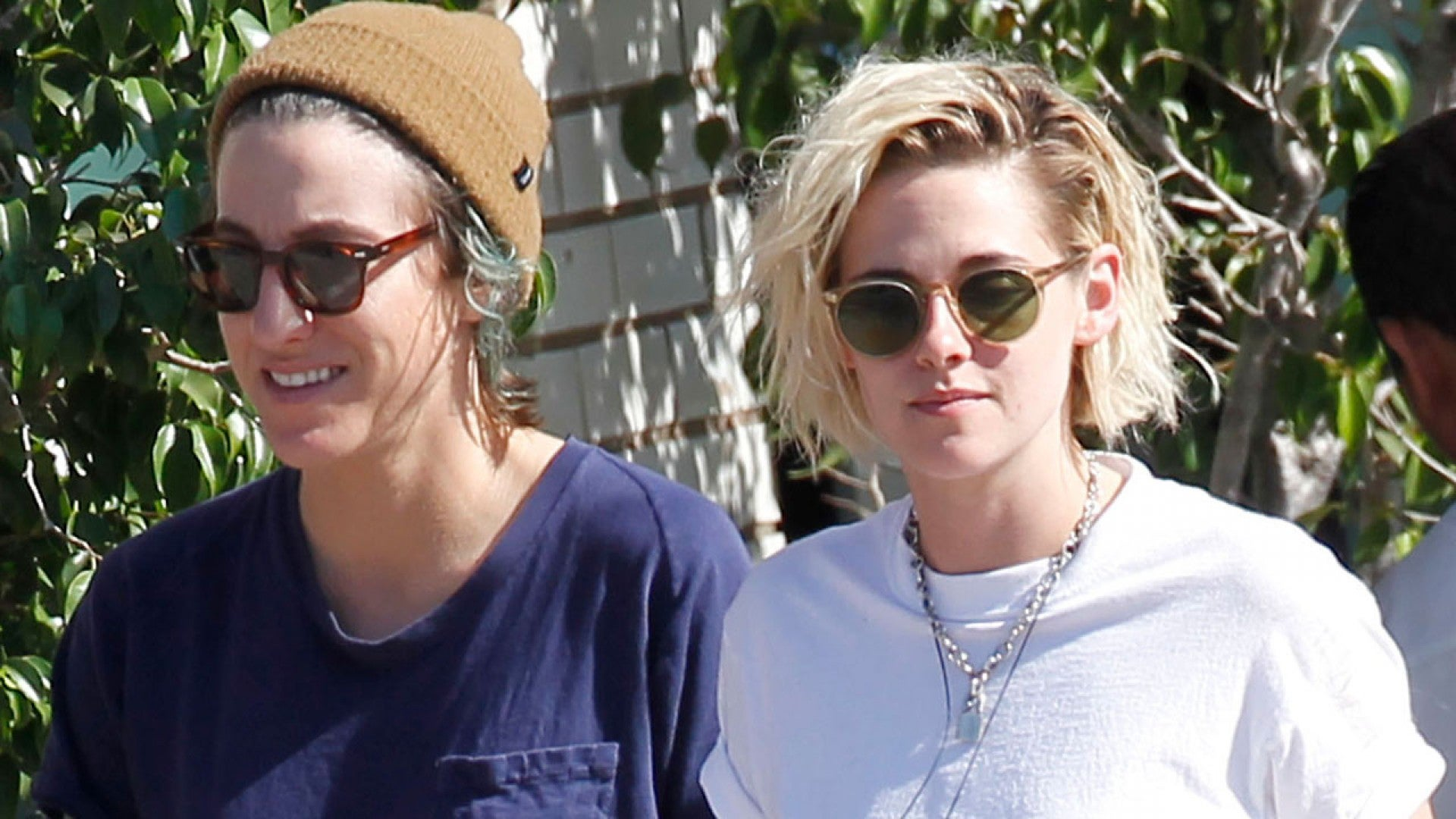 Alicia Smiles kristen stewart holds hands and smiles on sushi date with