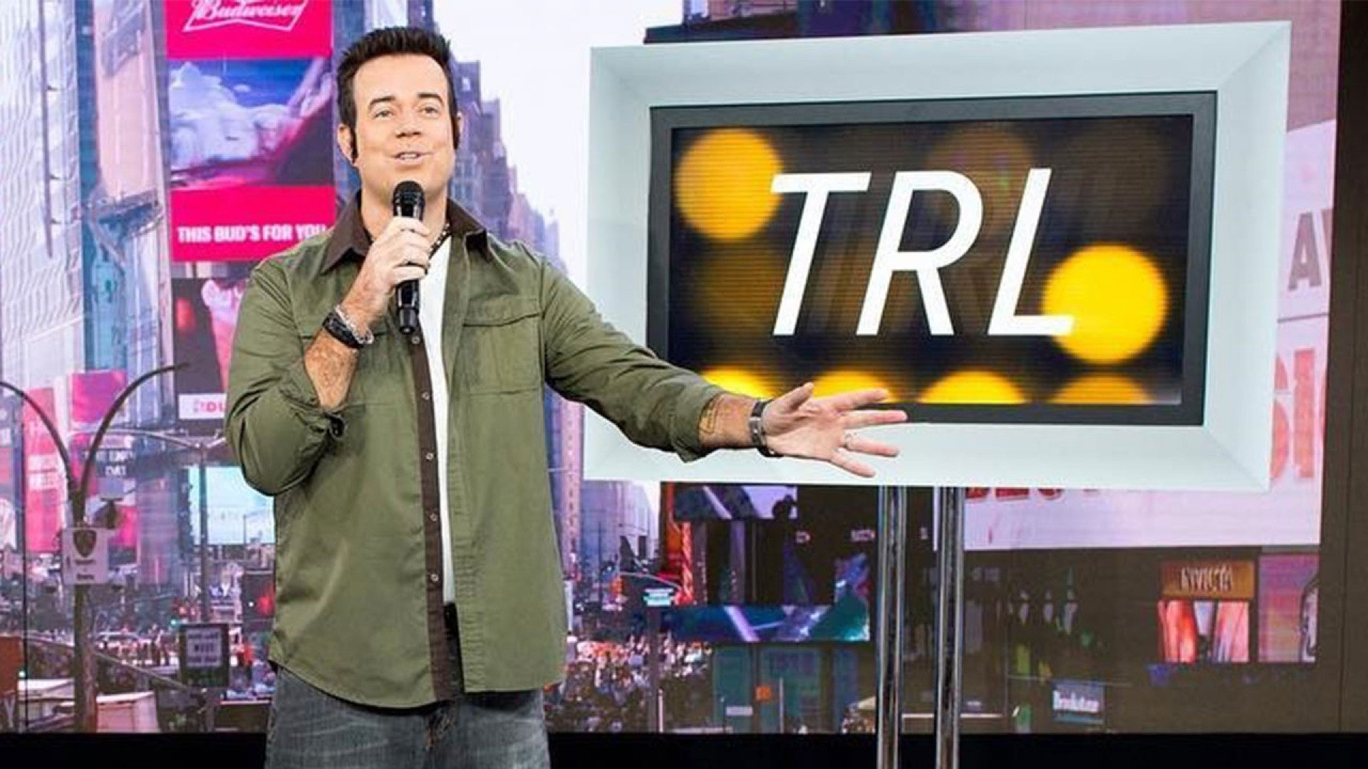 Carson Daly Halloween Costume 2020 Carson Daly Channels His MTV 'TRL' Days With 90s Themed Halloween