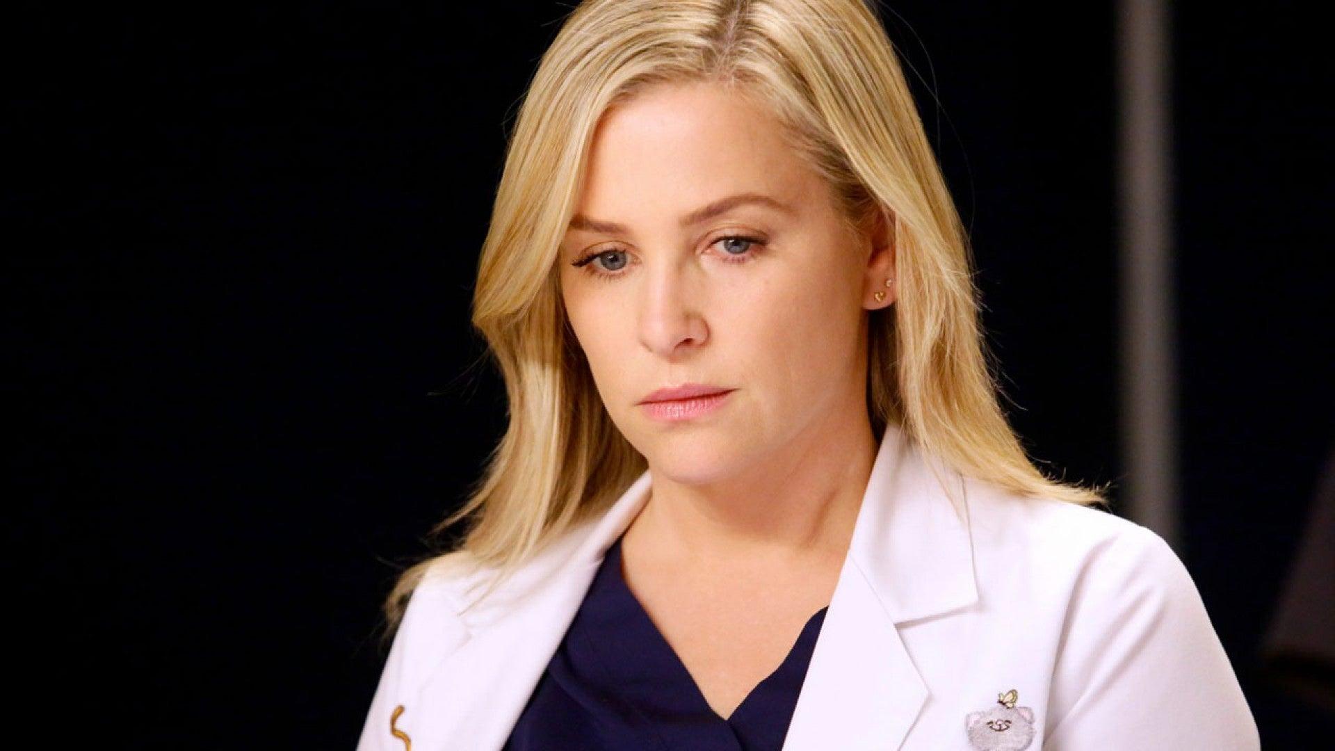 Exclusive Greys Anatomy Star Jessica Capshaw Talks