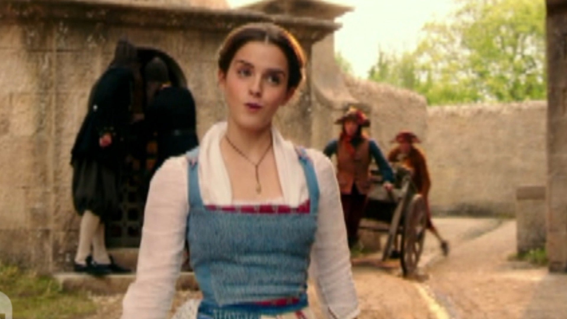 Watch Emma Watson Sing Belle In Beauty And The Beast Entertainment Tonight