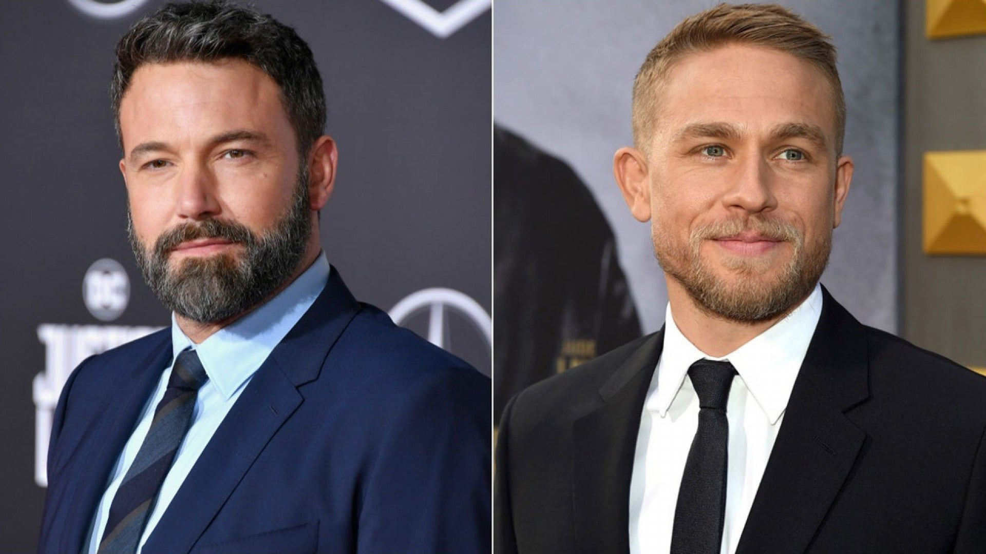 Ben Affleck And Charlie Hunnam Go Shirtless While Training For New