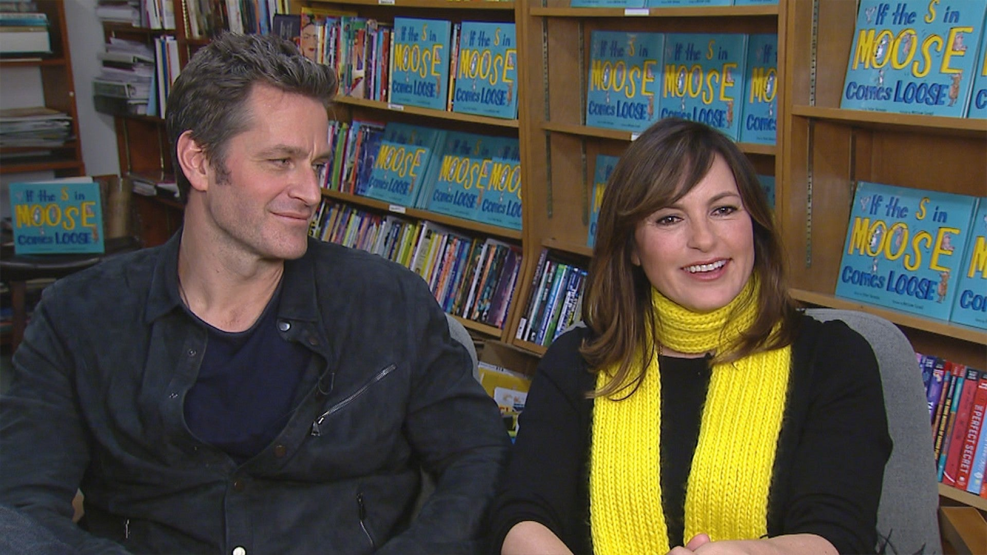 Mariska Hargitay And Peter Hermann Reveal When They Ll Let Their Kids Watch Law Order Svu Exclusive Entertainment Tonight