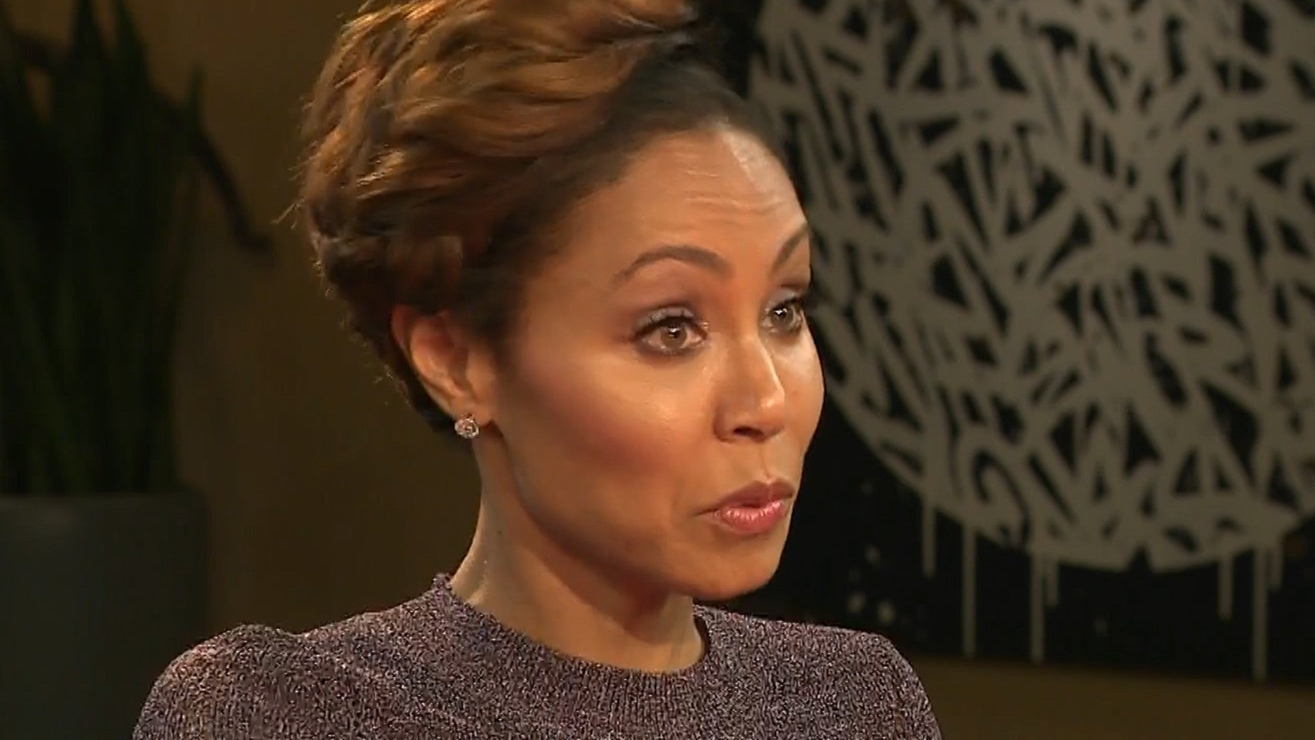 Jada Pinkett Smith Admits She S Shaking With Fear About Going Bald Entertainment Tonight
