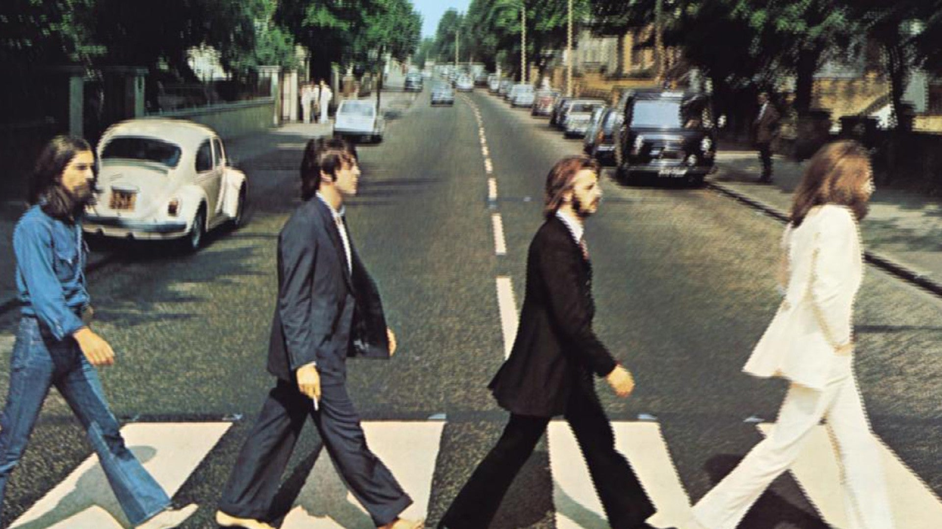 Paul Mccartney Recreates Iconic Abbey Road Album Cover In Fun Video Entertainment Tonight