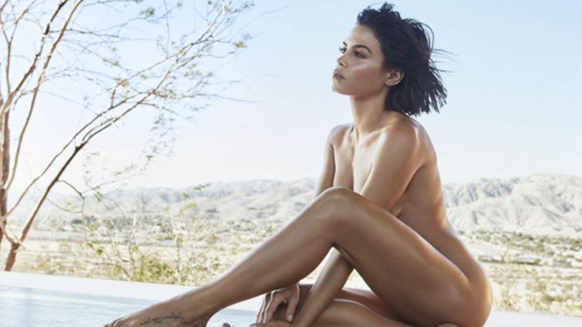 18 Year Old Jenna Porn jenna dewan poses nude as she talks about her transformation