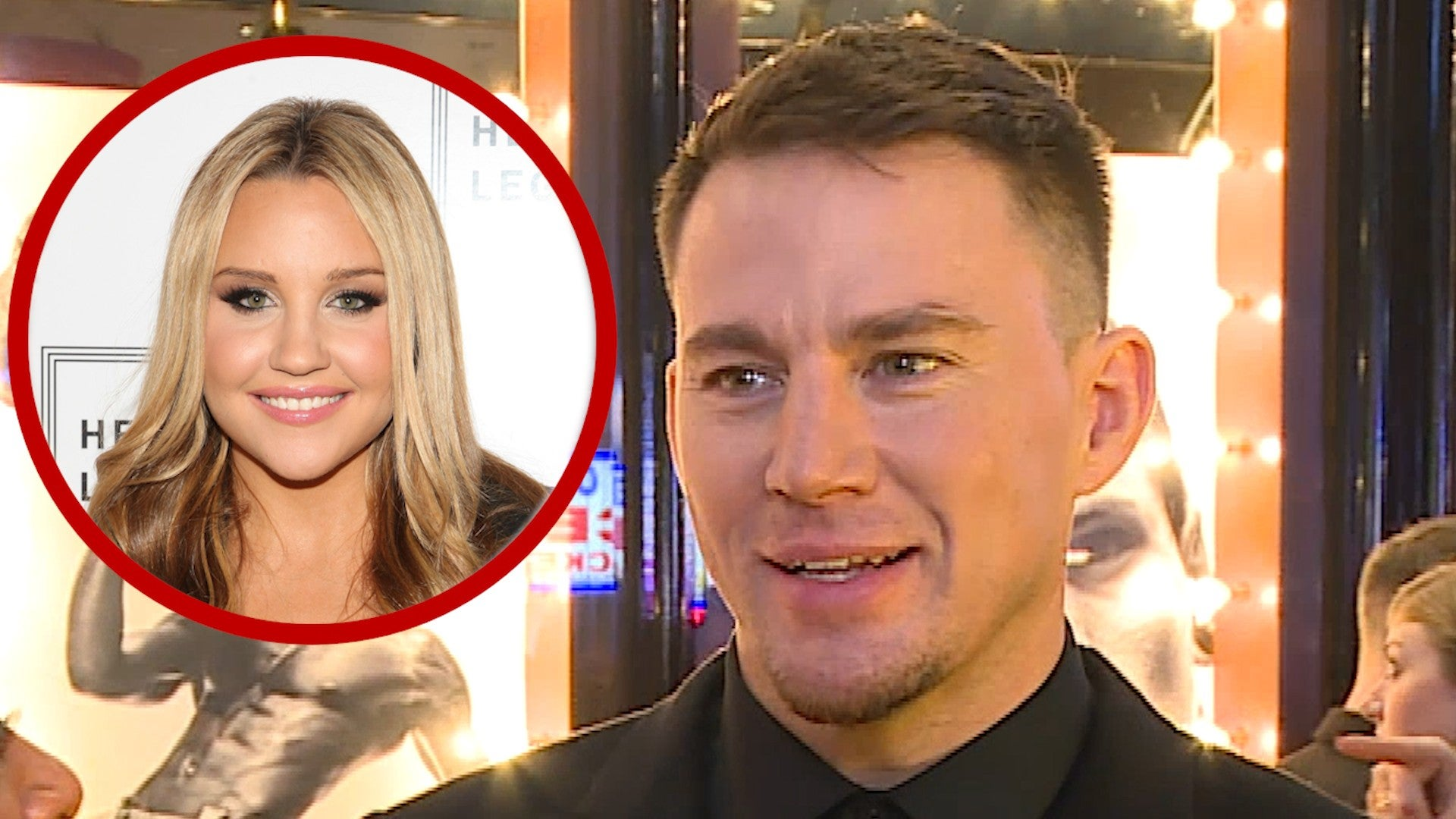 Channing Tatum Reacts To Amanda Bynes Saying She Fought For Casting Him In She S The Man Exclusive Entertainment Tonight