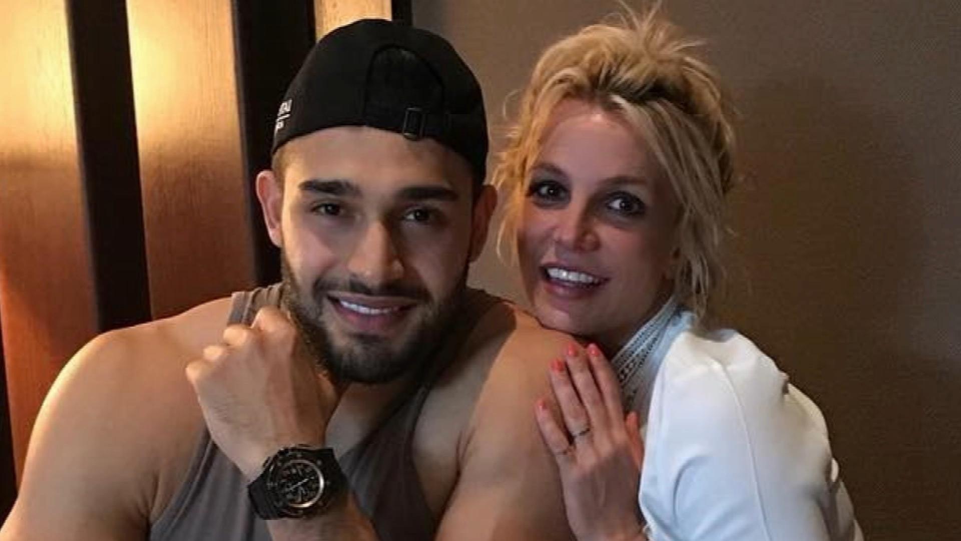 Britney Spears Actor Boyfriend Sam Asghari Reveals Plans To Open Soccer Academy Exclusive Entertainment Tonight