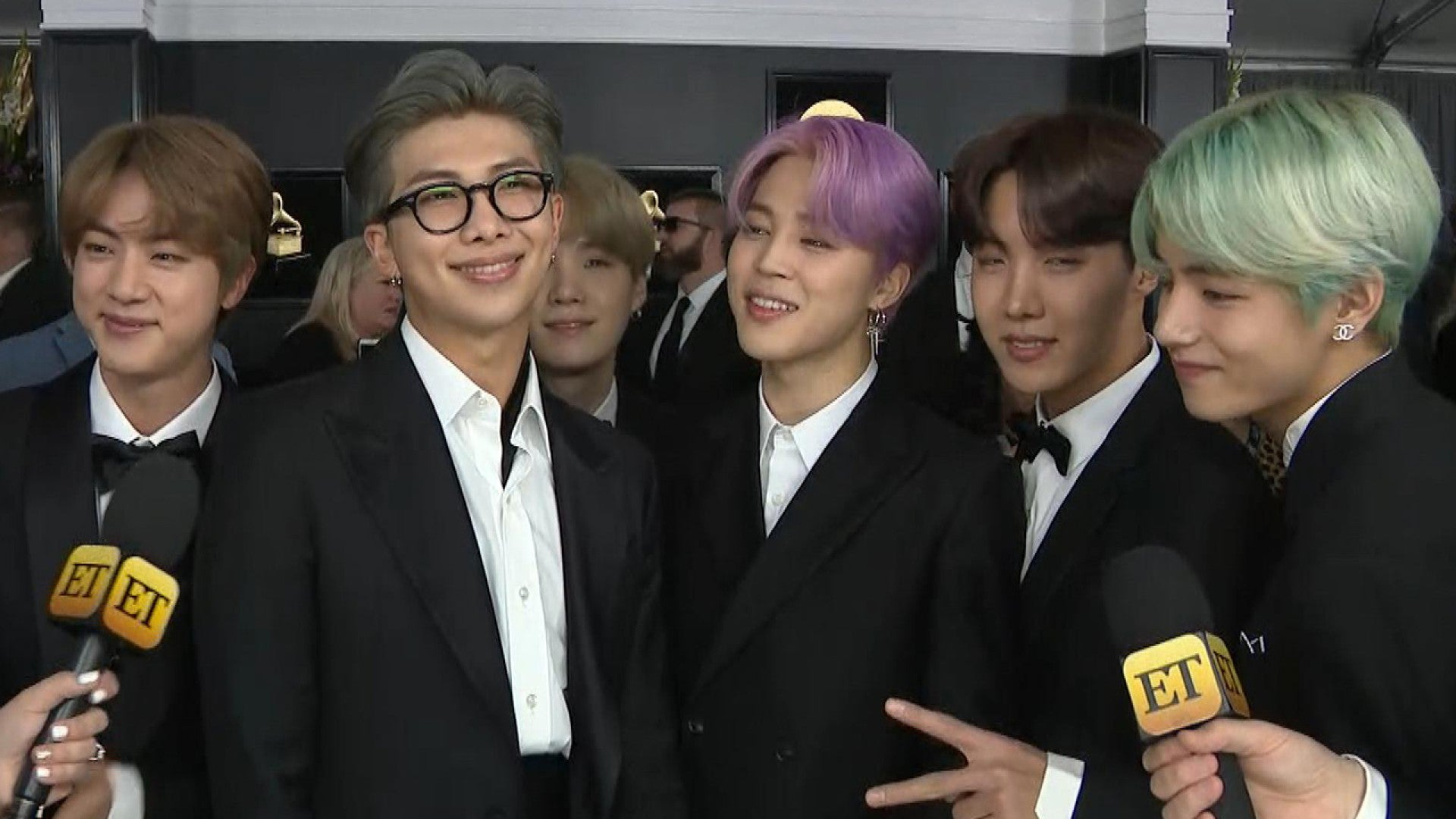 Bts Stayed Up All Night Working On New Music Before The 2019