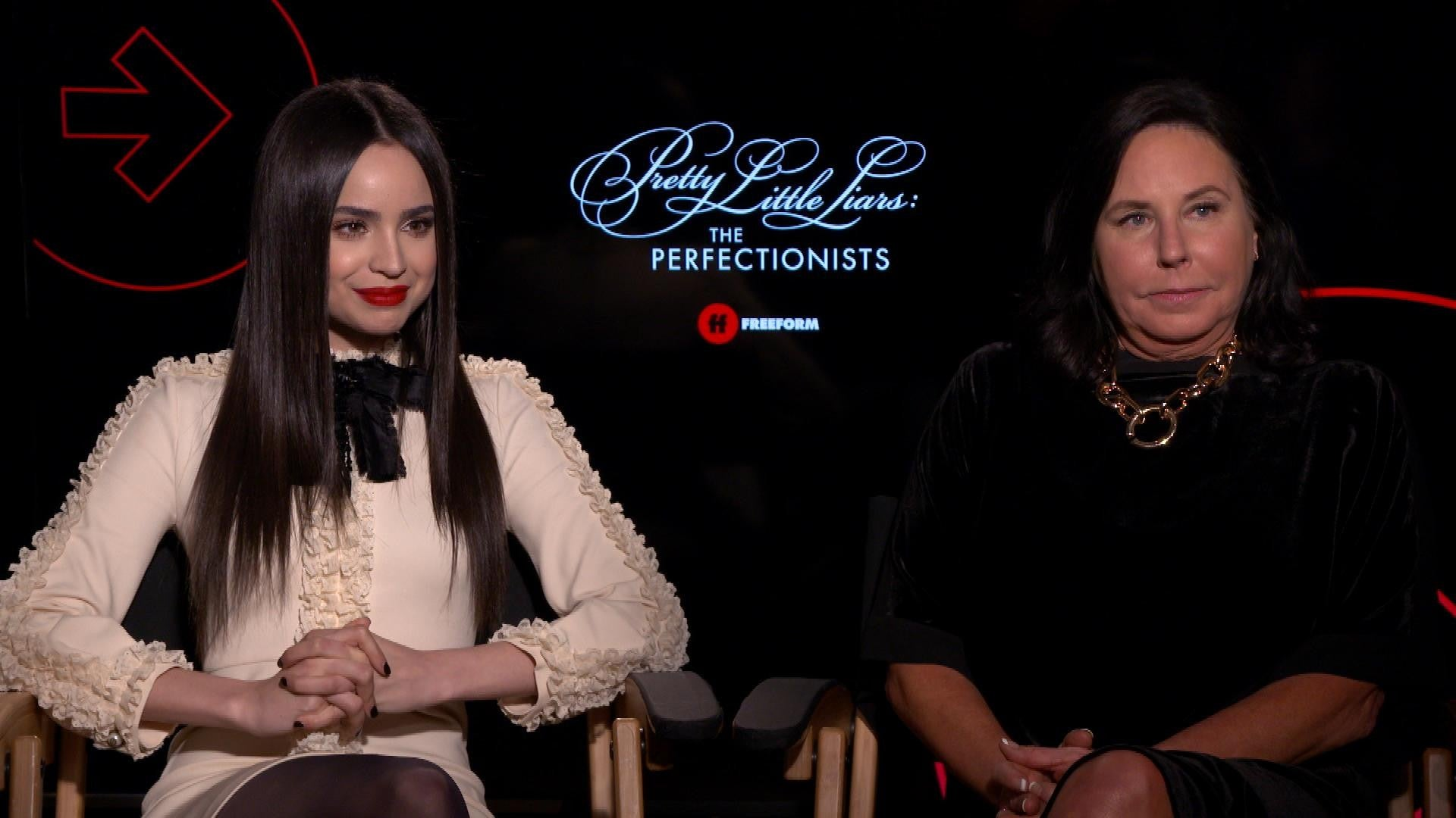Pretty Little Liars The Perfectionists Stars Dish On Edgier