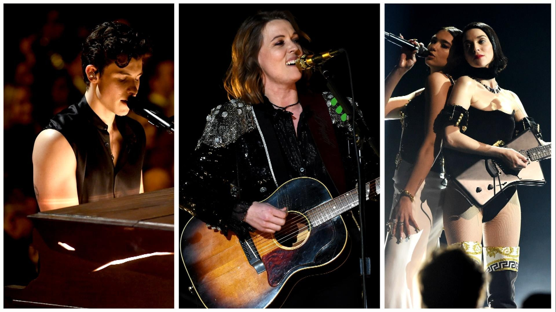 2019 Grammys Most Memorable Performances From Miley Cyrus And Dolly Parton To Lady Gaga And Cardi B Entertainment Tonight
