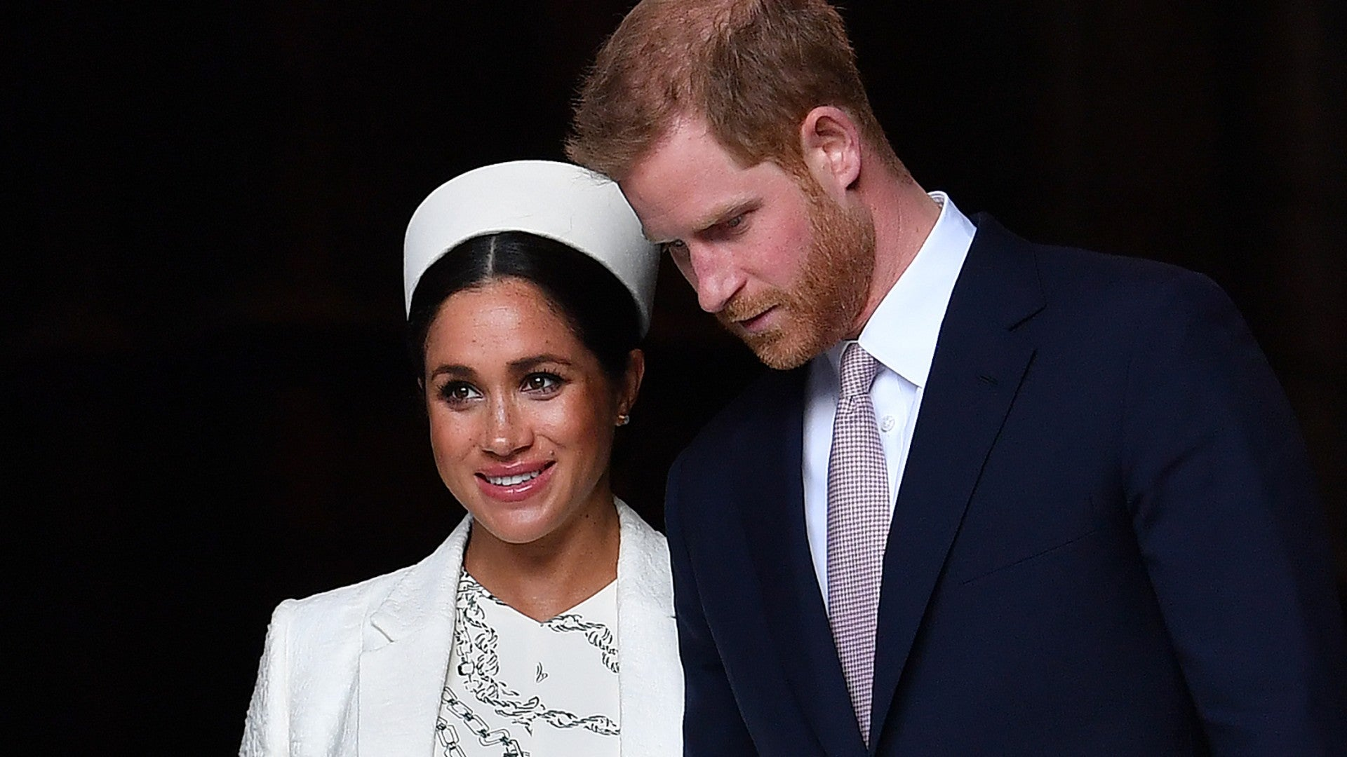 Meghan Markle Is Due Any Day Source Says As Queen Elizabeth S Birthday Approaches Entertainment Tonight