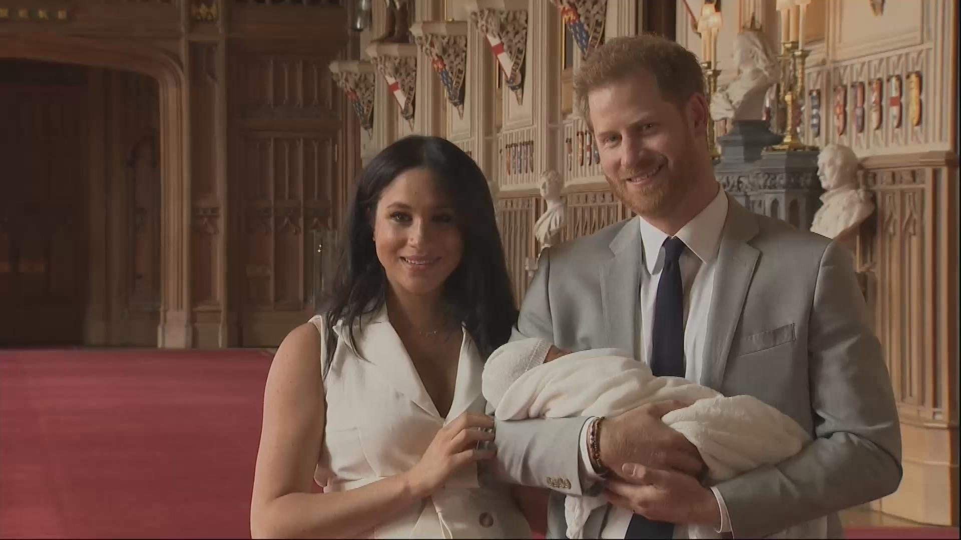 meghan markle and prince harry s son archie has gender neutral flower named after him entertainment tonight inside meghan markle s million dollar pregnancy