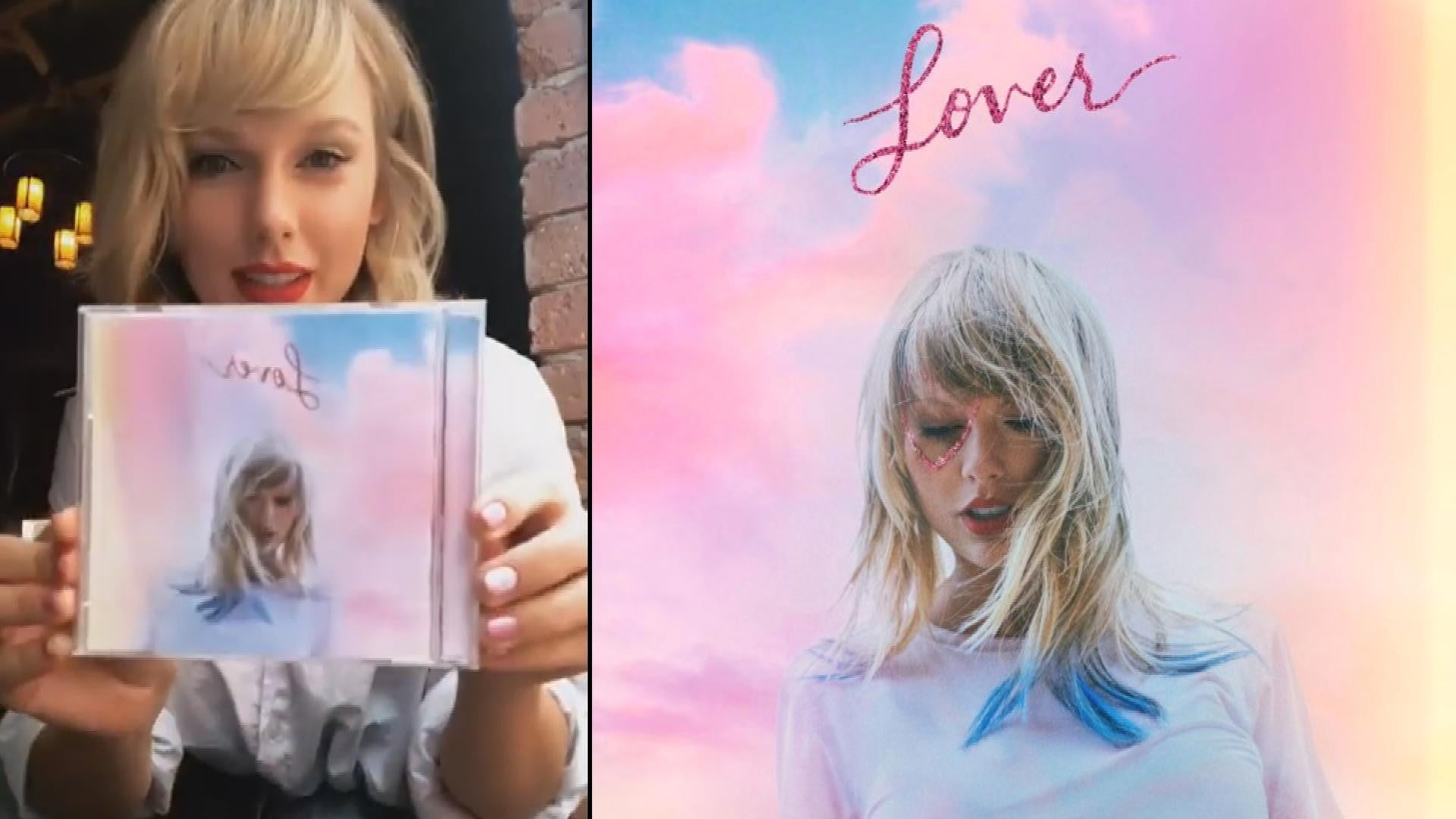 Taylor Swift Reveals Her New Album Is Titled Lover Announces Release Date And Next Single Entertainment Tonight