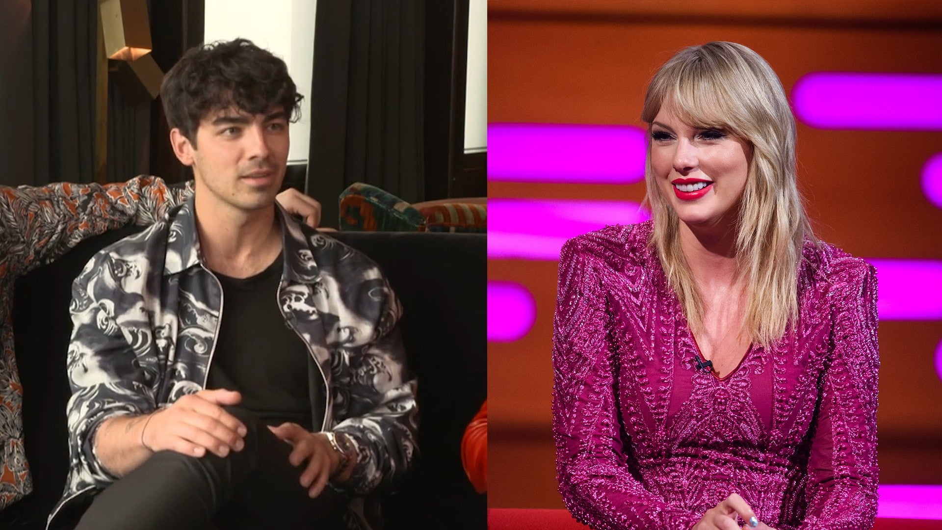 Joe Jonas Says It Felt Nice To Receive Apology From Ex Taylor Swift Entertainment Tonight