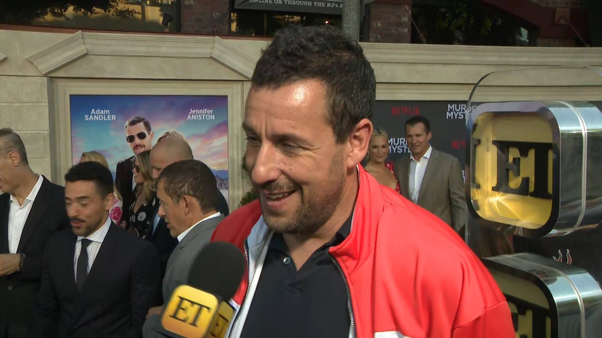 Adam Sandler Has Hilarious Reaction To Big Daddy Co Stars