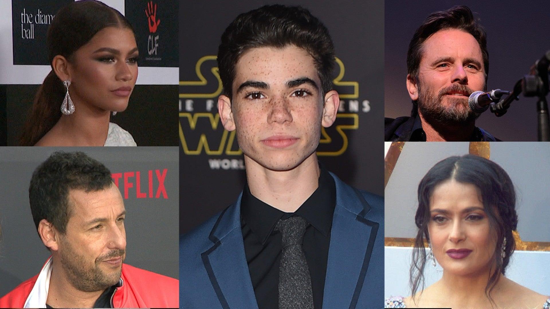 Adam Sandler Zendaya And More Stars React To Cameron Boyce S Shocking Death Entertainment Tonight
