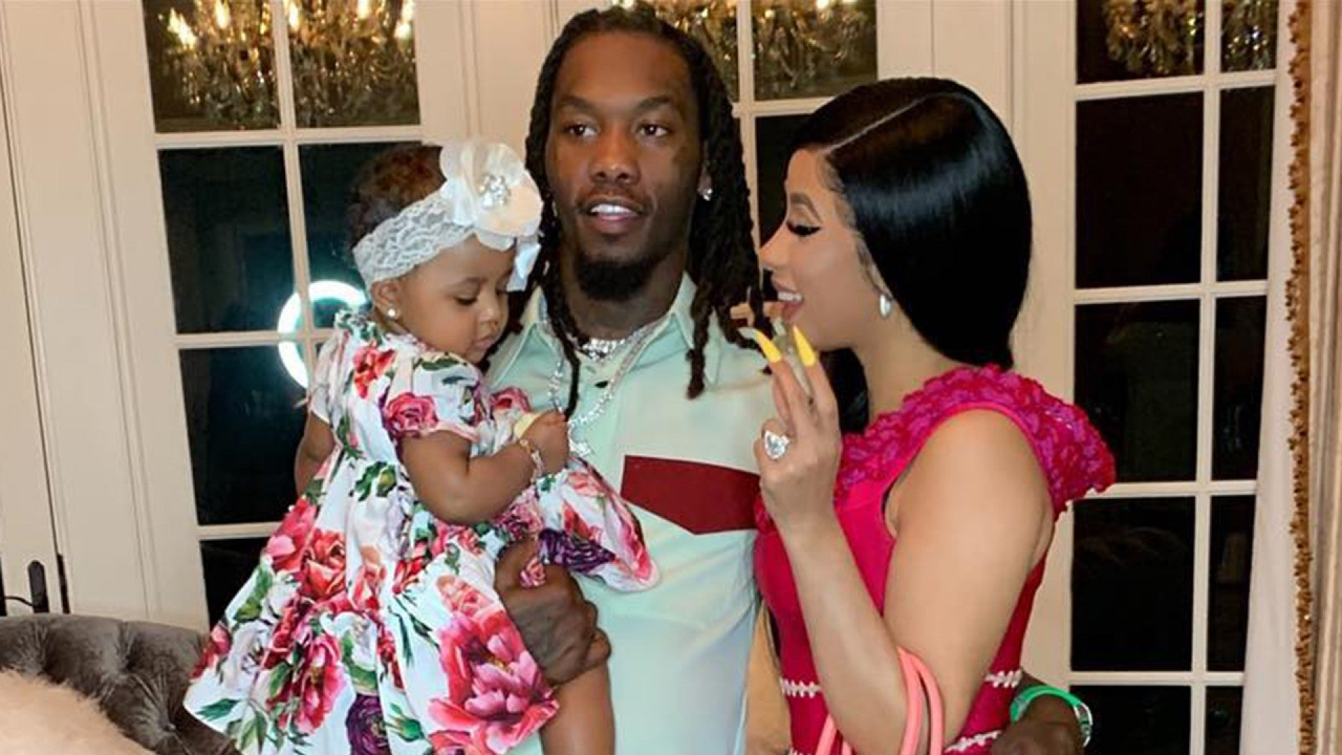 Cardi B And Offset Celebrate Daughter Kulture S 1st Birthday With