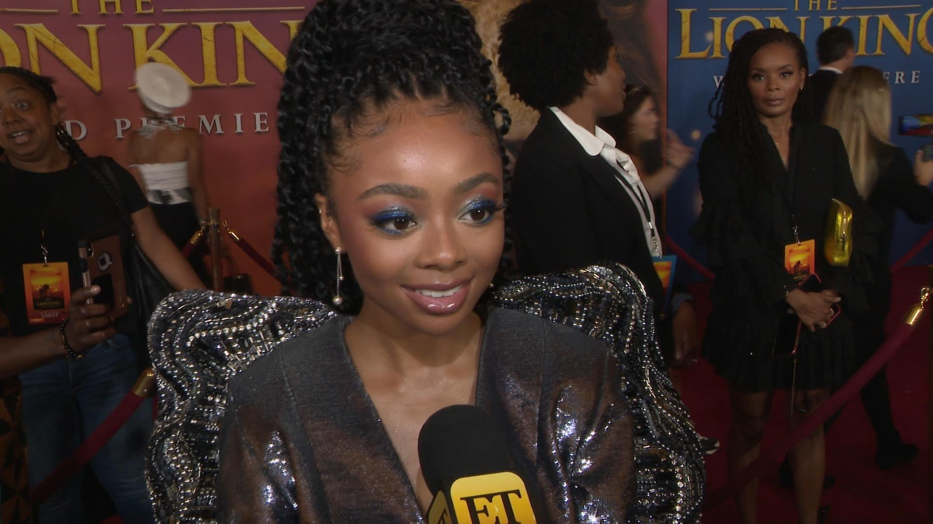 Cameron Boyce S Jessie Co Star Skai Jackson Tears Up Over His Death He Was Like A Brother Exclusive Entertainment Tonight