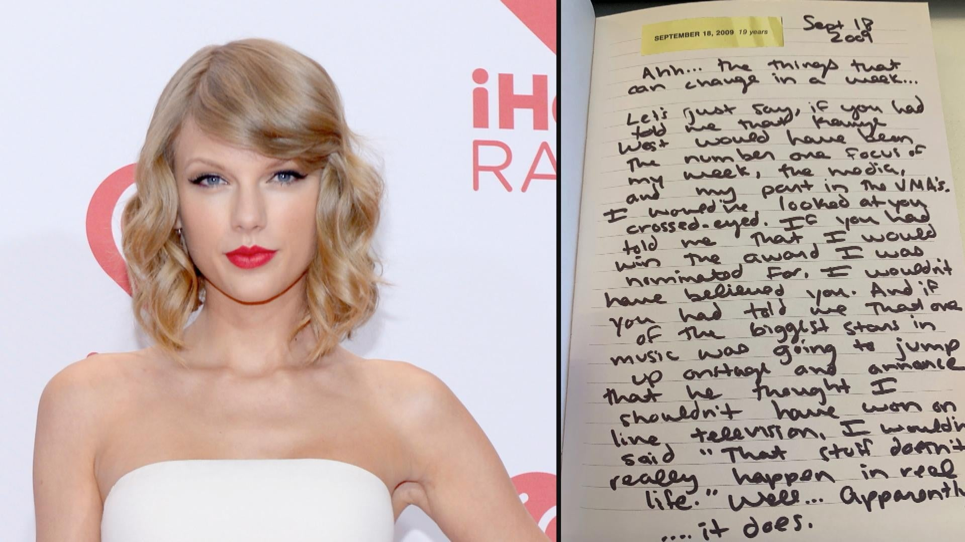 Taylor Swift Releases Diary Entries With Lover Album Here Are The Biggest Bombshells Entertainment Tonight