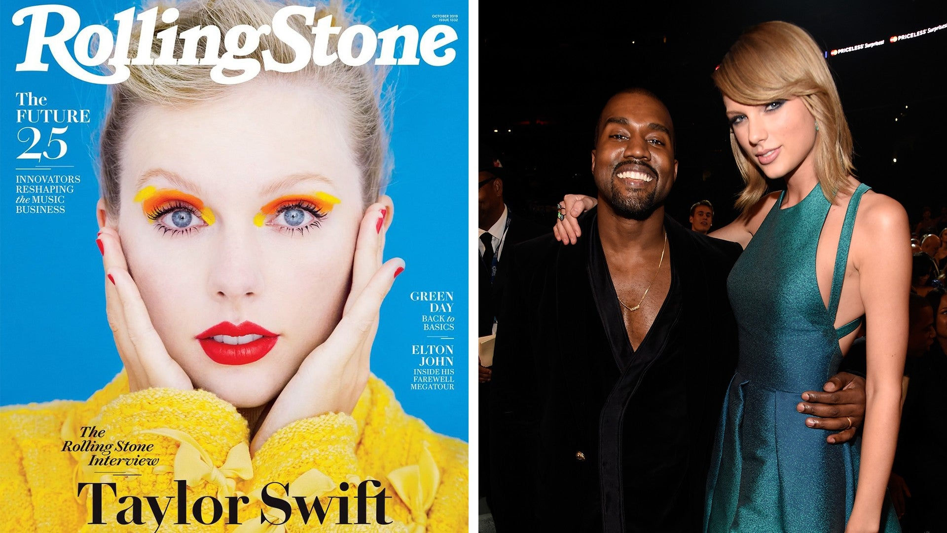 Taylor Swift Says Kanye West Is Two Faced And Dishes On Context Of That Infamous Phone Call Entertainment Tonight