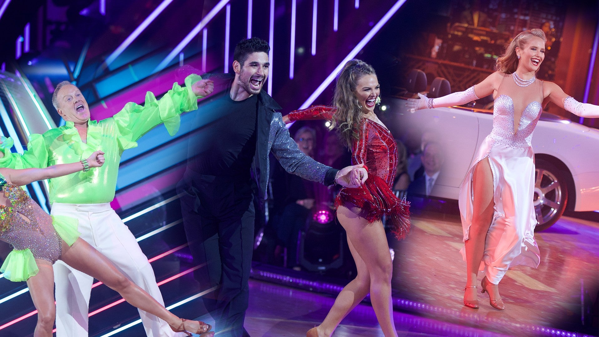 Dancing With The Stars Season 28 Kicks Off With Some Clear Frontrunners See Who S Leading The Pack Entertainment Tonight
