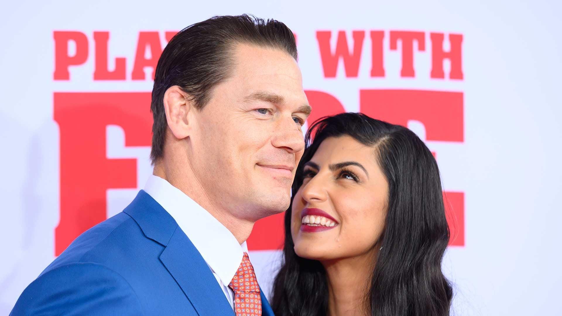 WWE Franchise John Cena Marries Shay Shariatzadeh 1