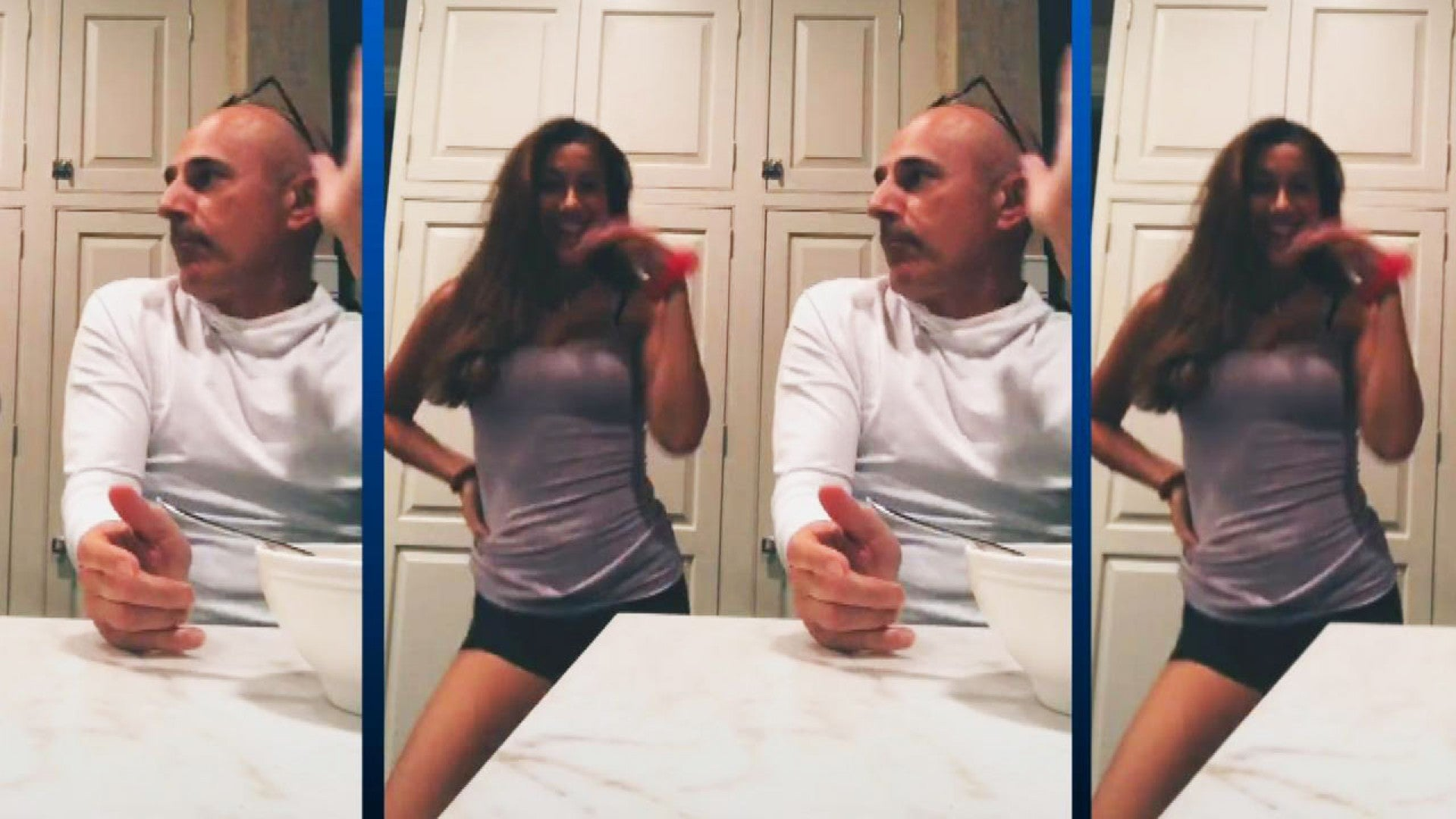 Matt Lauer Returns To Public Eye In Daughter Romy S Tiktok Videos