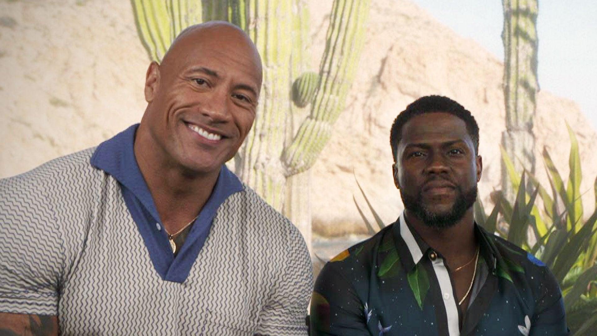Kevin Hart And Dwayne Johnson Share Jumanji Sequel Details