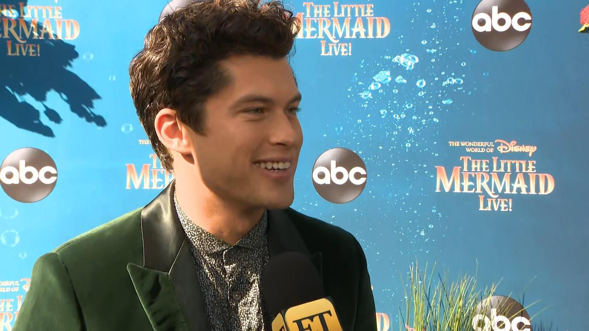 Graham Phillips Talks Possibly Playing Prince Eric In Live