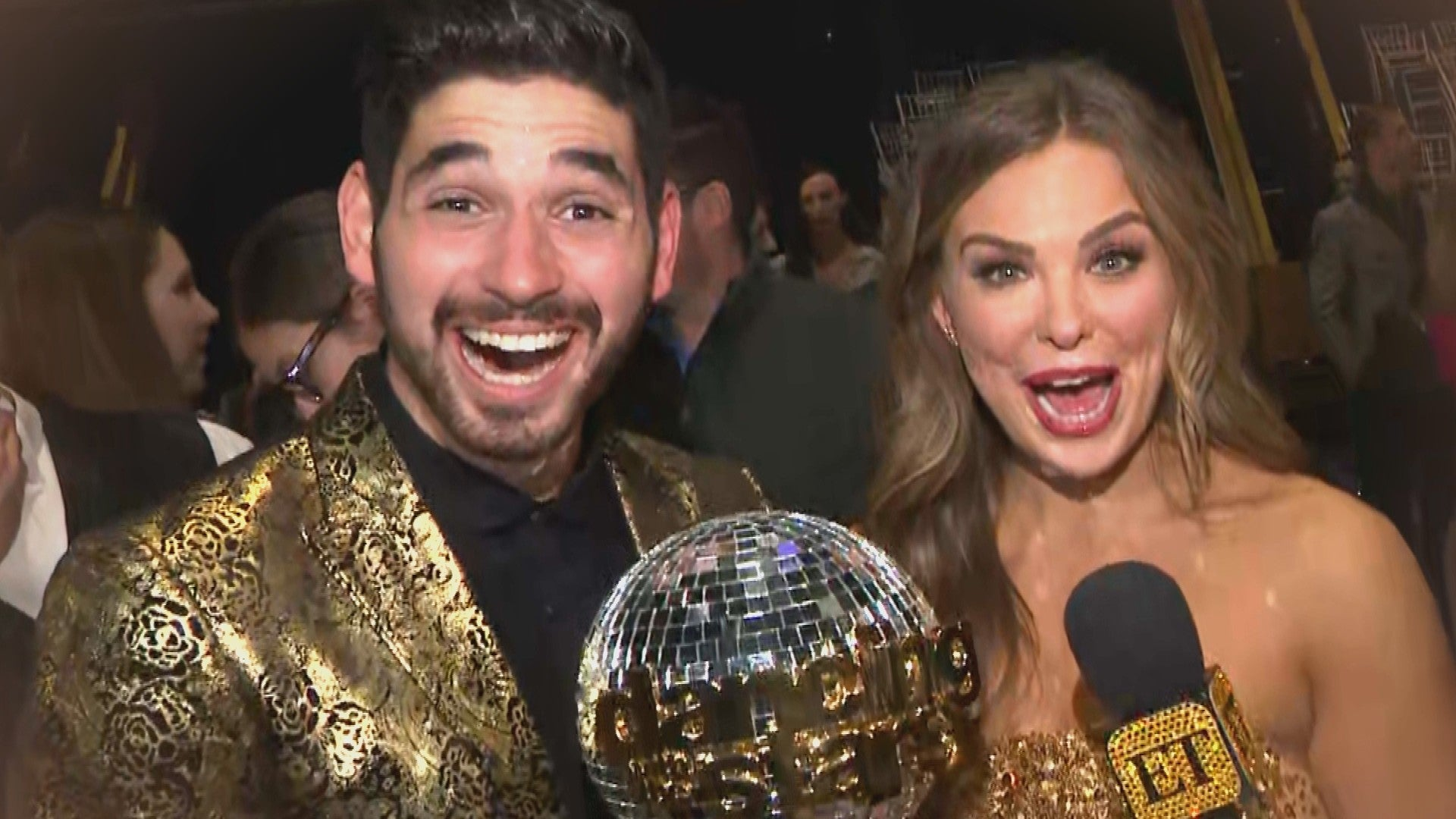 Dancing With The Stars Crowns New Season 28 Champion See Who Took Home The Mirrorball Trophy Entertainment Tonight