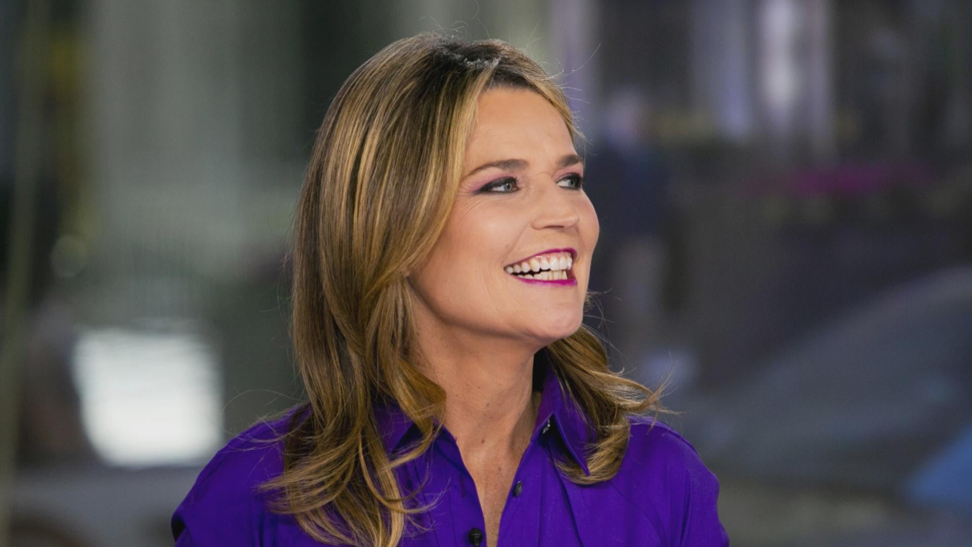 Savannah Guthrie Cannot See Out Of Right Eye But Is Still Planning Her Return To Today Entertainment Tonight