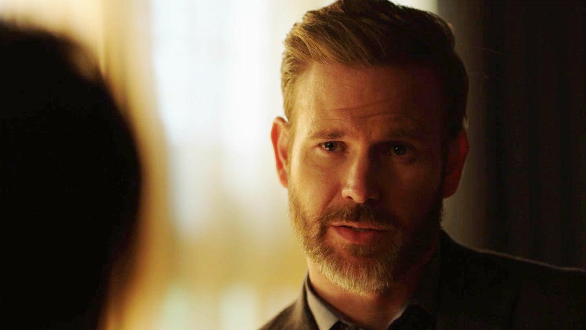 Legacies Sneak Peek Alaric Gives Sebastian A Stern Warning About Pursuing Lizzie Entertainment Tonight