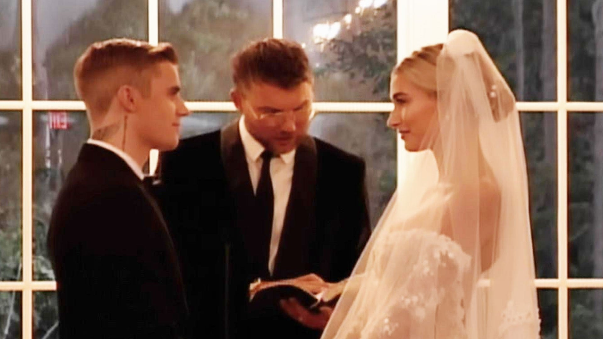 Watch Justin and Hailey Bieber Exchange Vows in Wedding Video