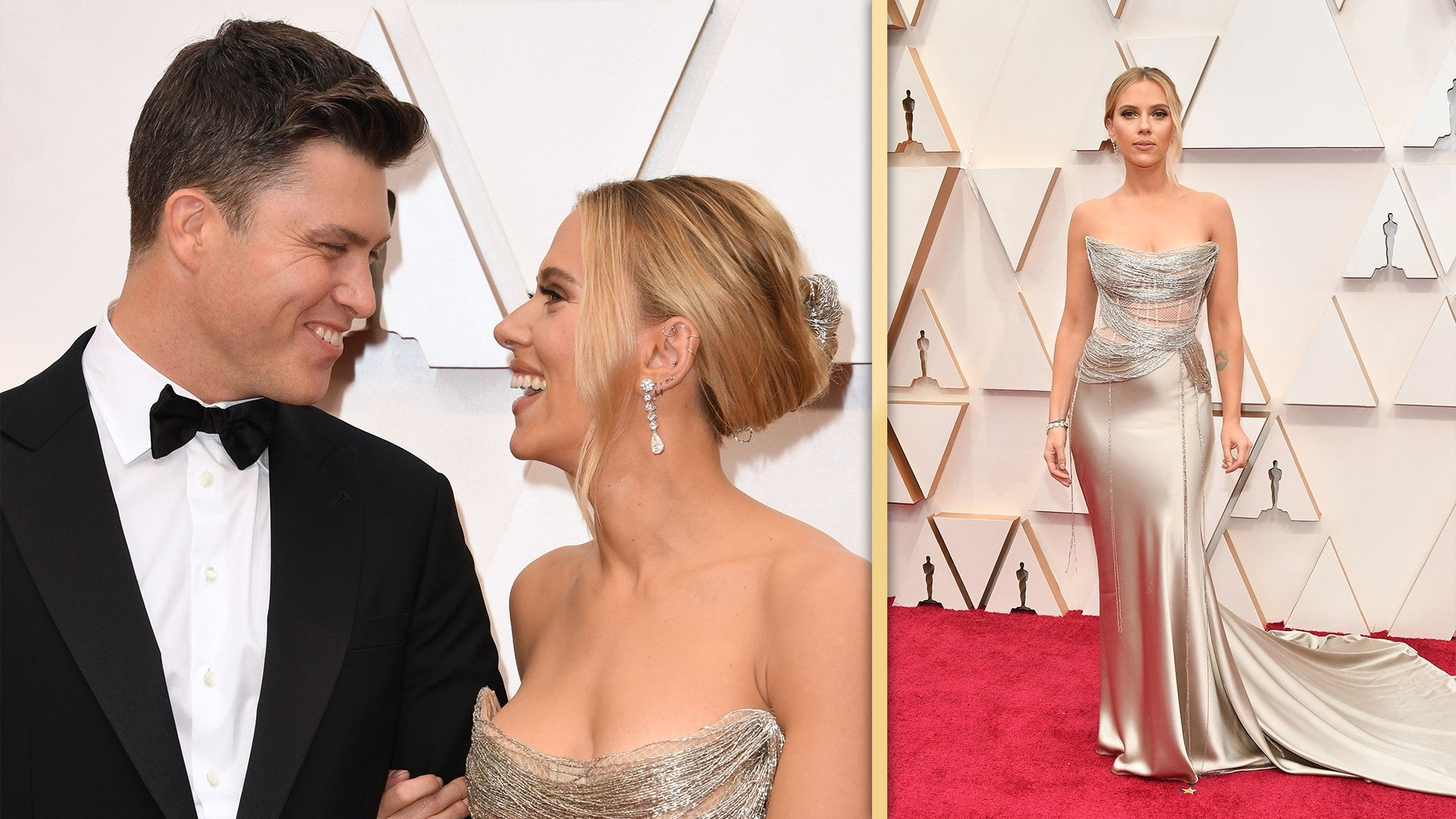 Colin Jost And Scarlett Johansson Are Married Entertainment Tonight