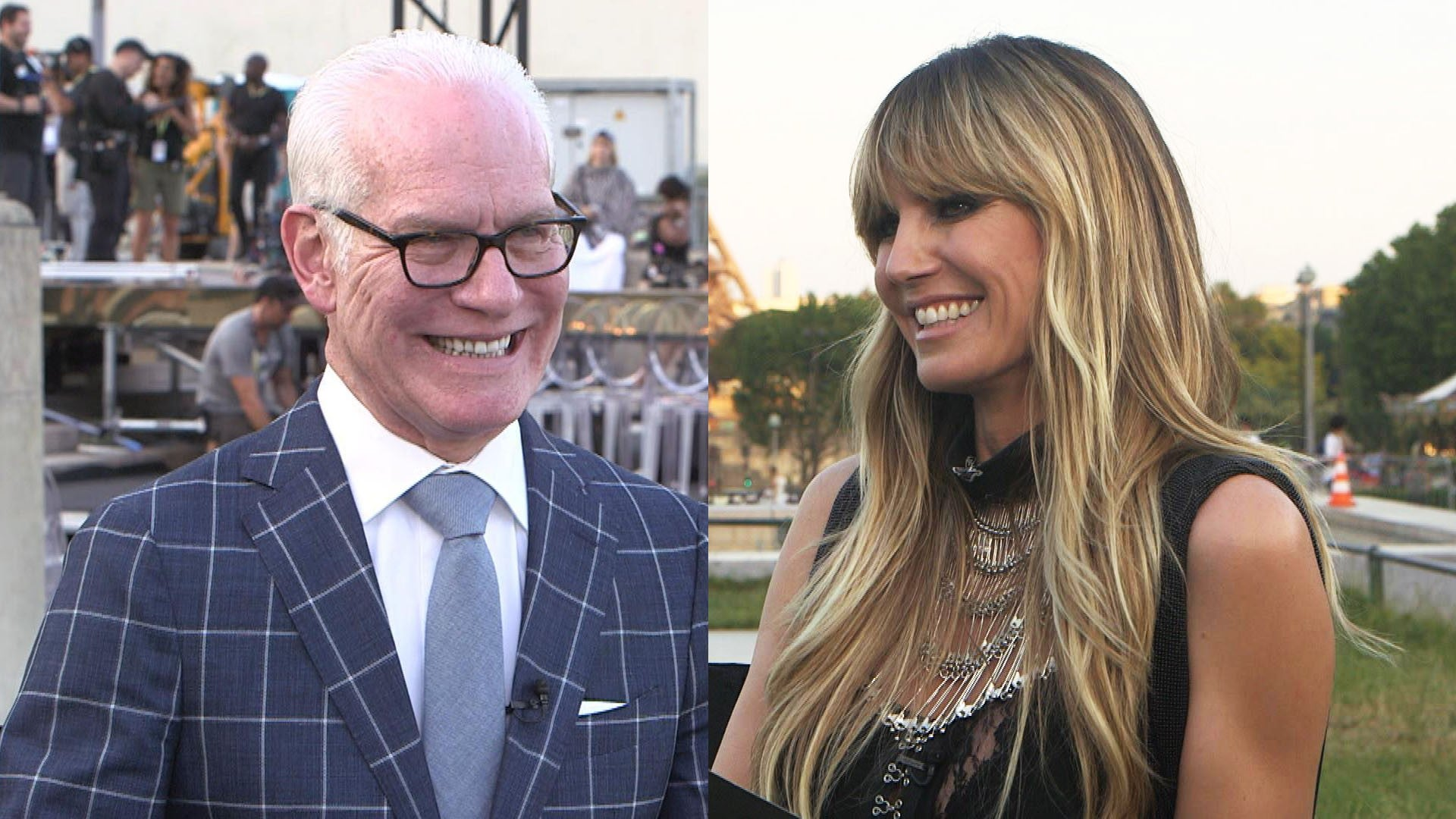 Making The Cut Heidi Klum And Tim Gunn On Creating A More Realistic Fashion Competition Exclusive Entertainment Tonight