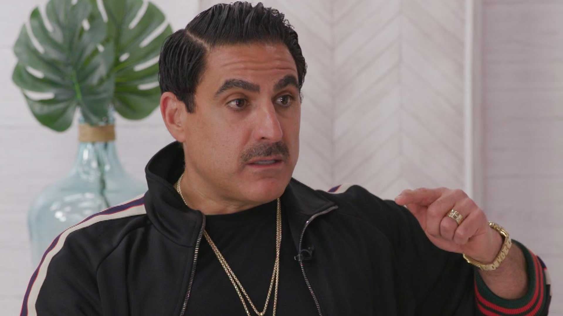 Shahs Of Sunset Reza Farahan Explains His Feud With Mercedes Mj Javid Exclusive Entertainment Tonight
