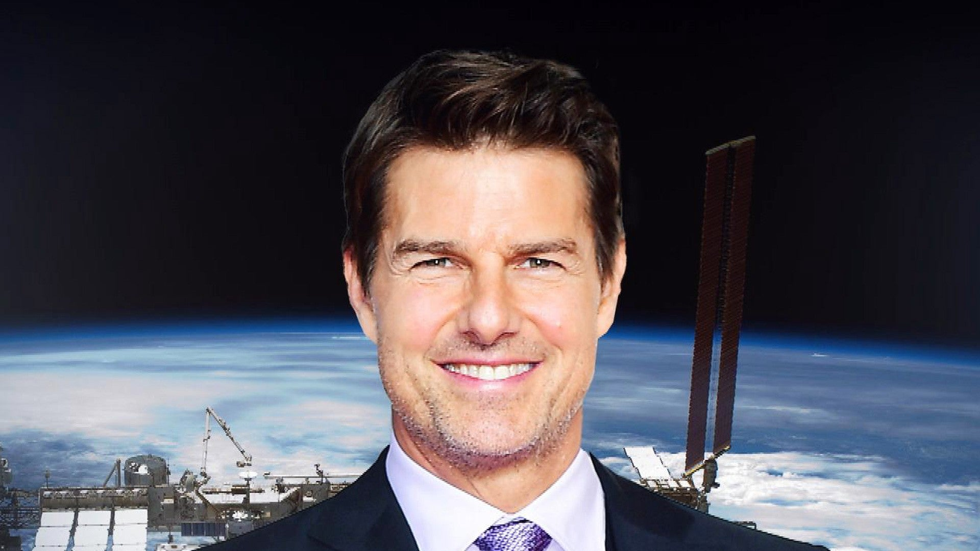 Tom Cruise Is Working With Nasa To Film A Movie In Space Entertainment Tonight