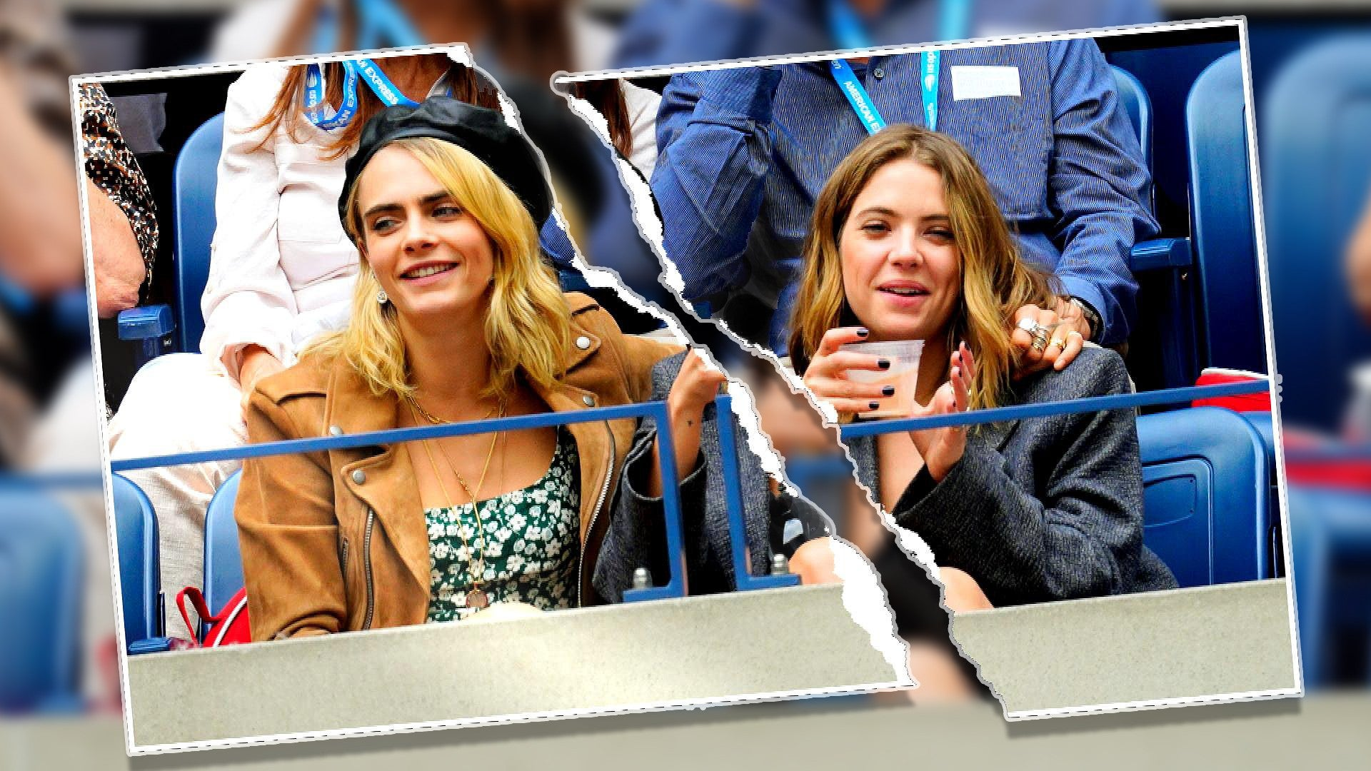 Cara Delevingne Tells Fans To Stop Hating On Ex Ashley Benson Entertainment Tonight