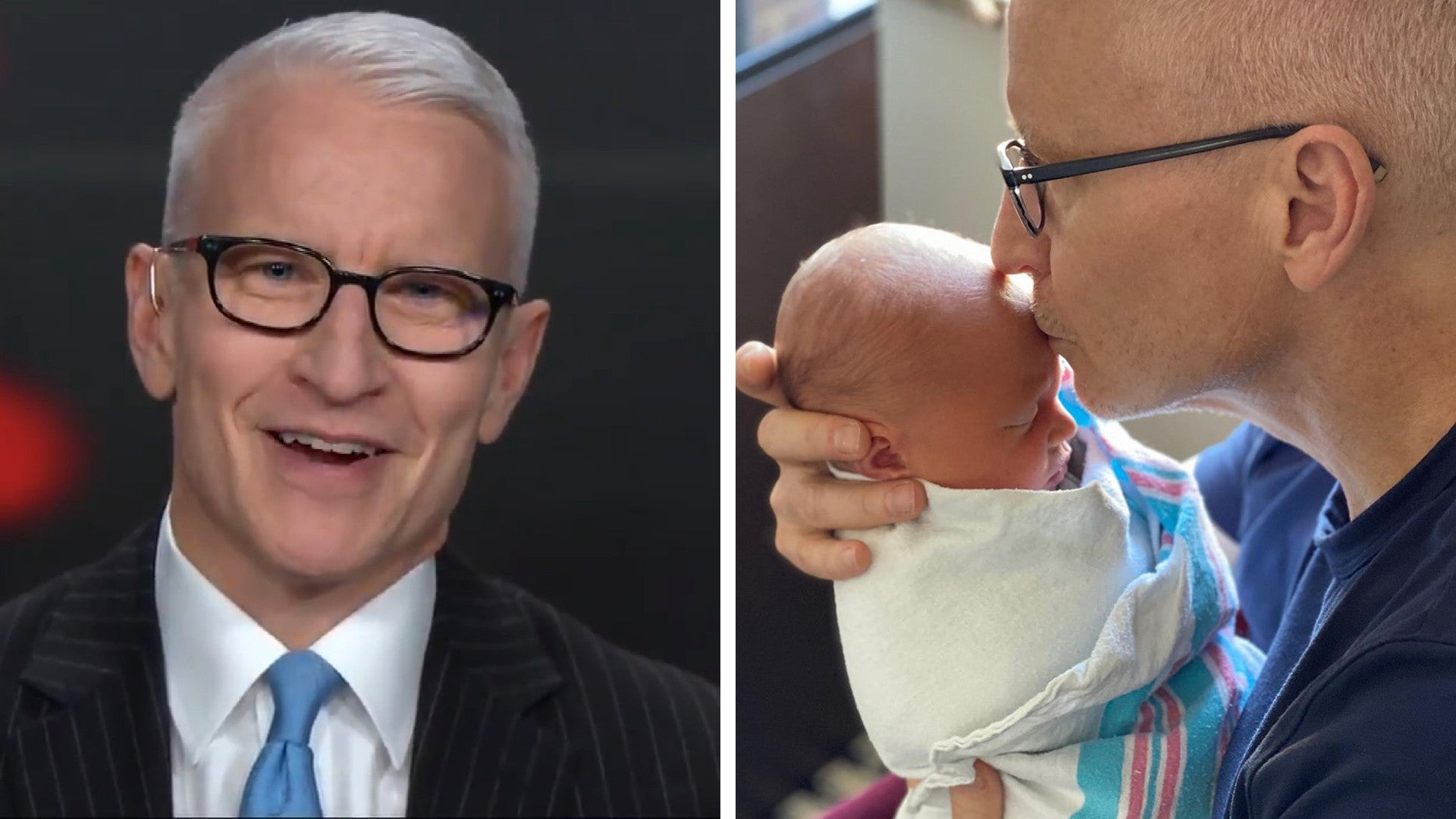 Anderson Cooper Reveals He S A Dad See The Sweet Message And First Pic Entertainment Tonight