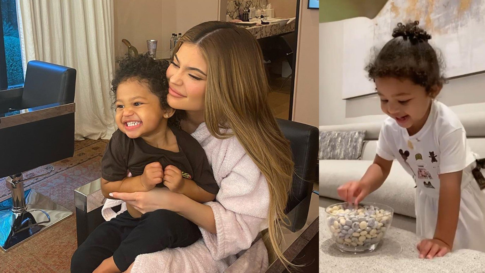Kylie Jenner's Daughter Stormi Chanting 'Patience' in Candy ...