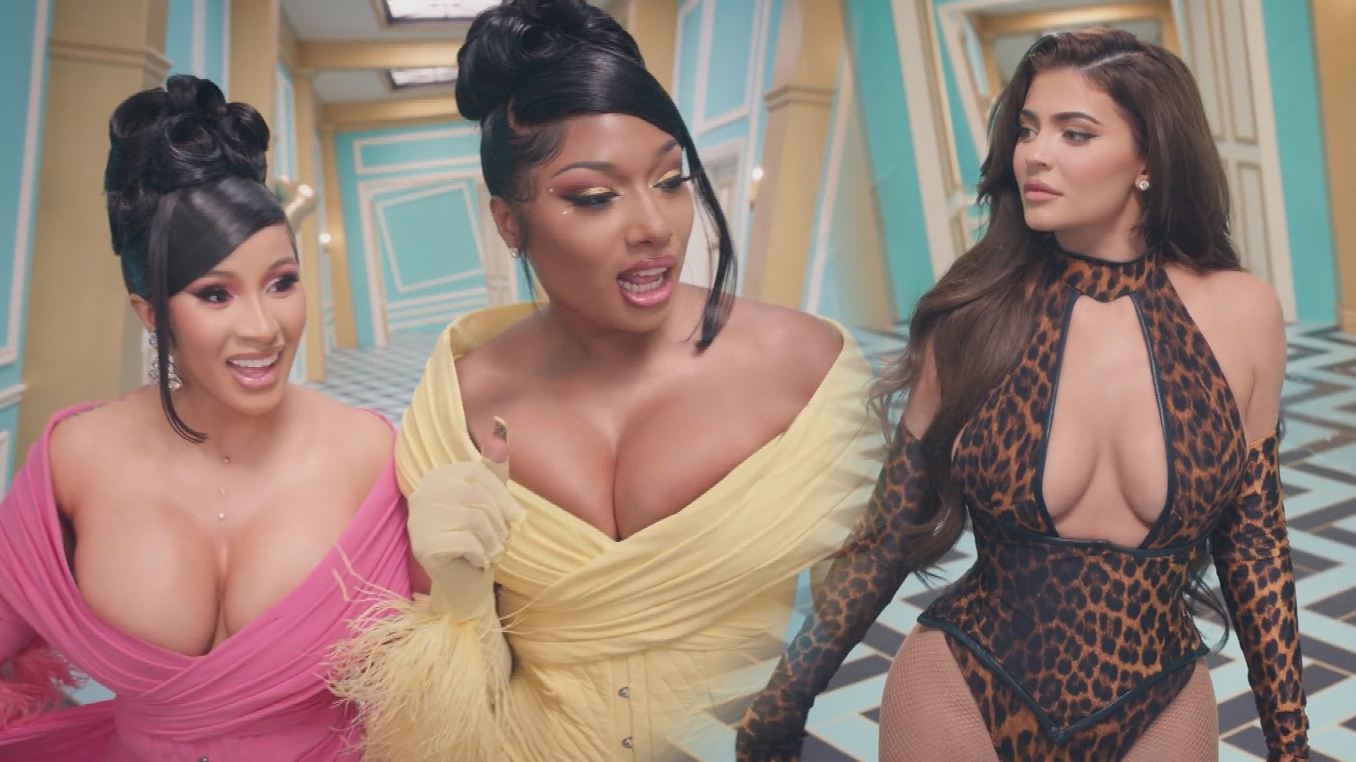 Cardi B And Megan Thee Stallion Drop Wap Video Kylie Jenner